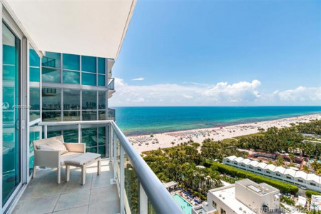 GORGEOUS DIRECT OCEAN VIEW UNIT AT SETAI MIAMI BEACH